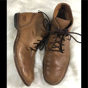 Men's UGG Australia leather shoes boots size 13